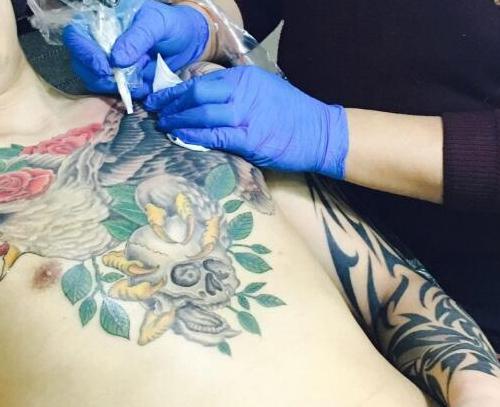 纹身师—孔老师