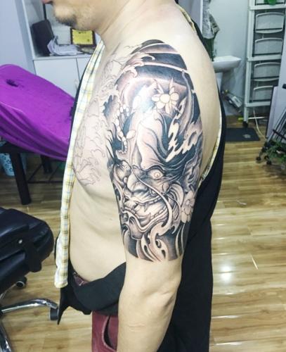 九龙坡纹身
