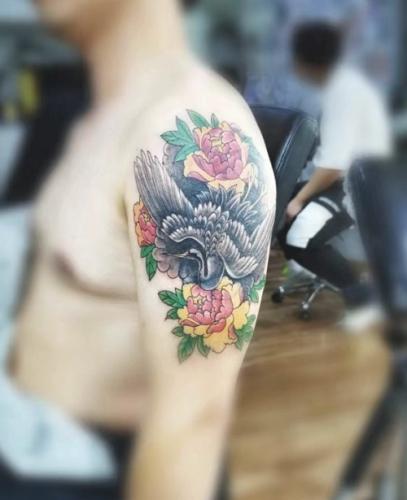重庆纹身图案4